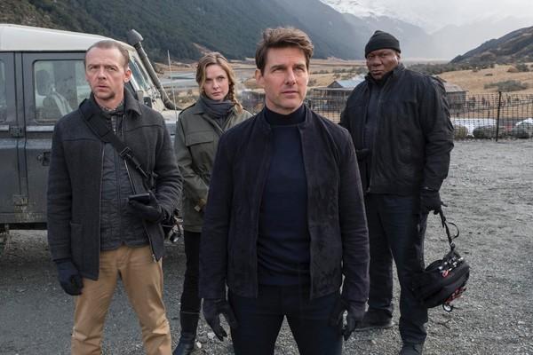 Tom Cruise em 'Missão Impossível 6' (Foto: Divulgação)