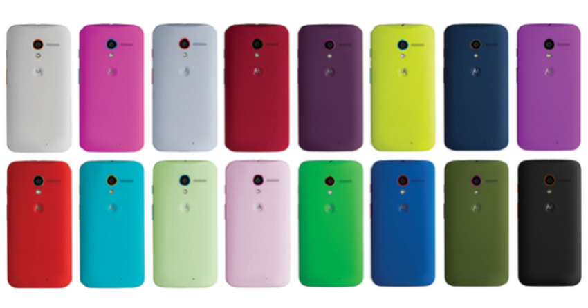 Motorola pode lançar Moto Maker, personalizador do Moto X, no Brasil