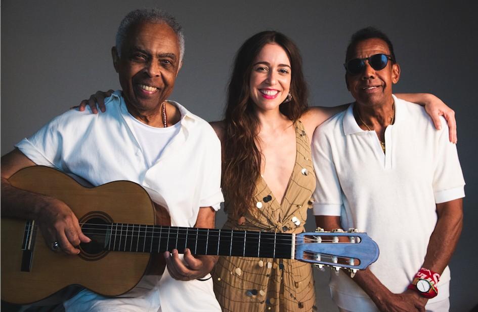 Gilberto Gil, Roberta Sá e Jorge Benjor (Foto: Alice Venturi / Divulgação)
