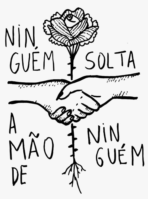 """""""Ninguém solta a mão de ninguém"""" viralizou após o resultado das Eleições (Foto: Divulgação)"""