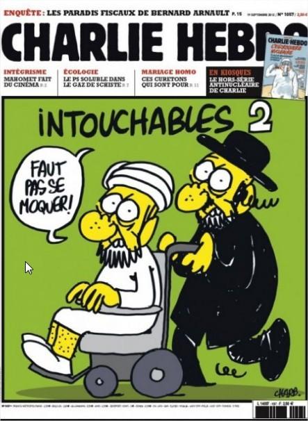 Verdadeira edição do jornal Charlie Hebdo