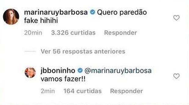 Boninho entrega que terá paredão fake no BBB21 (Foto: Reprodução/Instagram)
