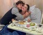João com a mulher, Mabel, no hospital | Reprodução/ Instagram