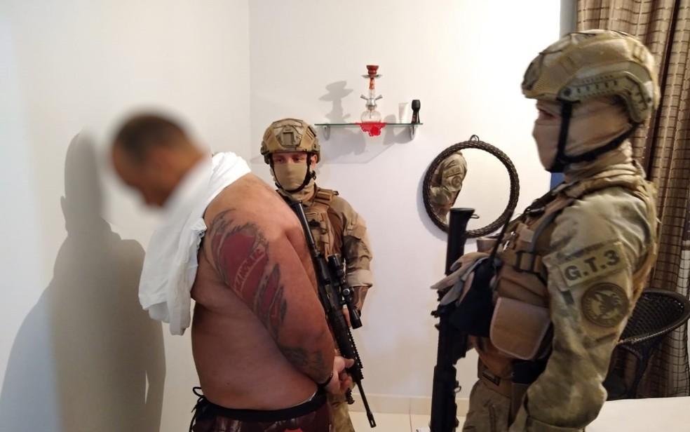 Polícia prende suspeito de participar de torcidas organizadas em Goiás — Foto: Reprodução/Polícia Civil