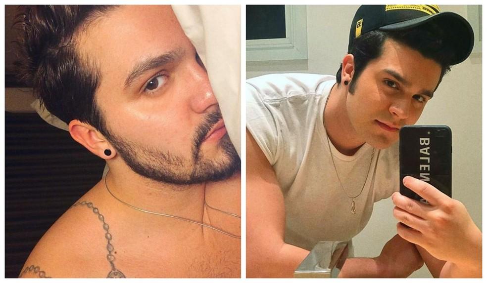 O cantor tirou a barba após anos com o mesmo visual — Foto: Reprodução/Instagram