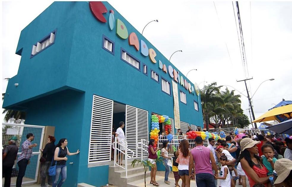 Apresentação acontece na Cidade da Criança — Foto: Canindé Soares