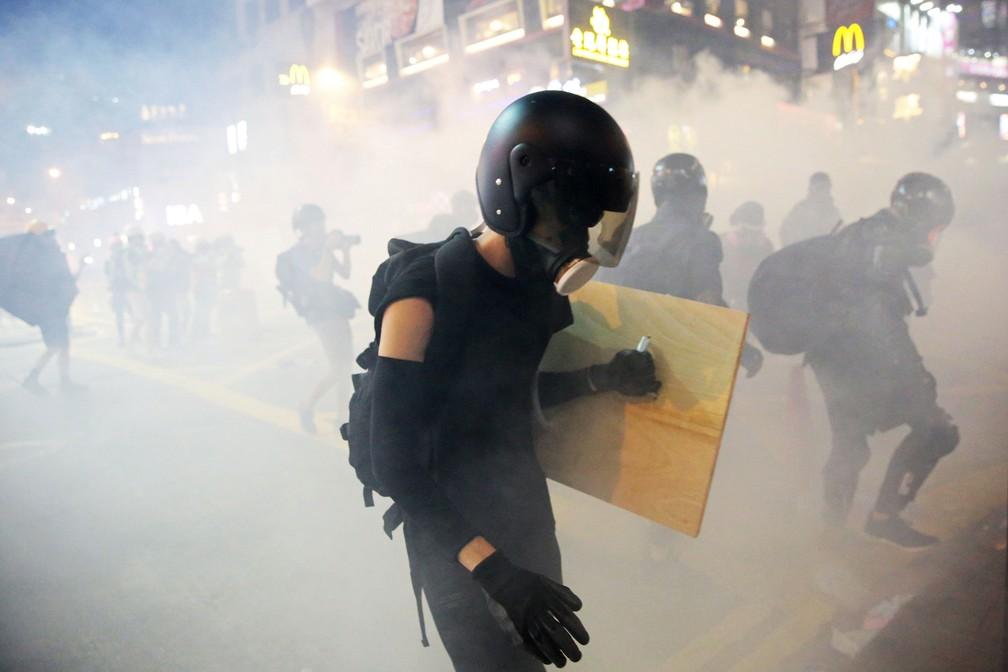 2019 08 04t154828z 217866609 rc1b555c45e0 rtrmadp 3 hongkong protests - Hong Kong tem nova confusão em manifestações; China diz que vai agir