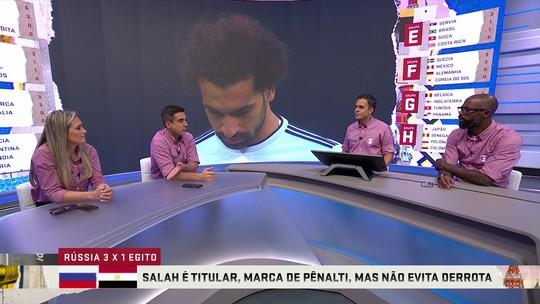 """Grafite enaltece importância de Salah: """"É o único jogador que todos idolatram"""""""