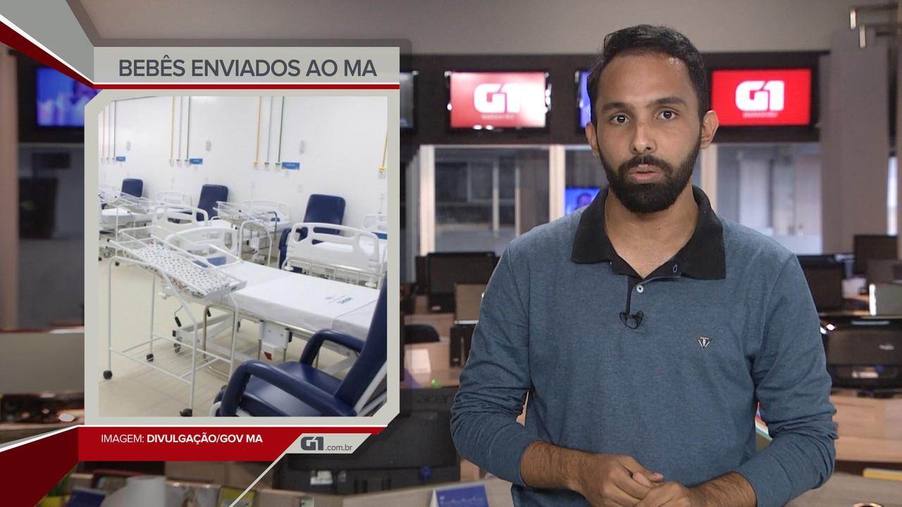 G1 em 1 Minuto: Maranhão vai receber bebês prematuros internados em UTIs de Manaus