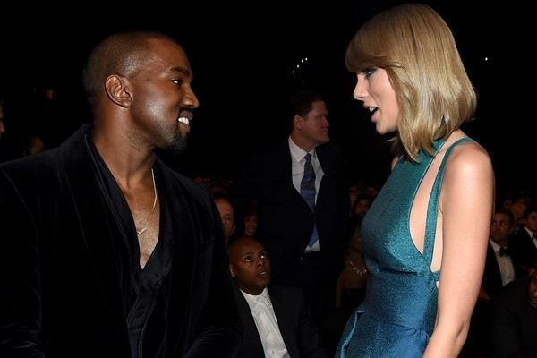 Kanye West e Taylor Swift (Foto: Getty Images)