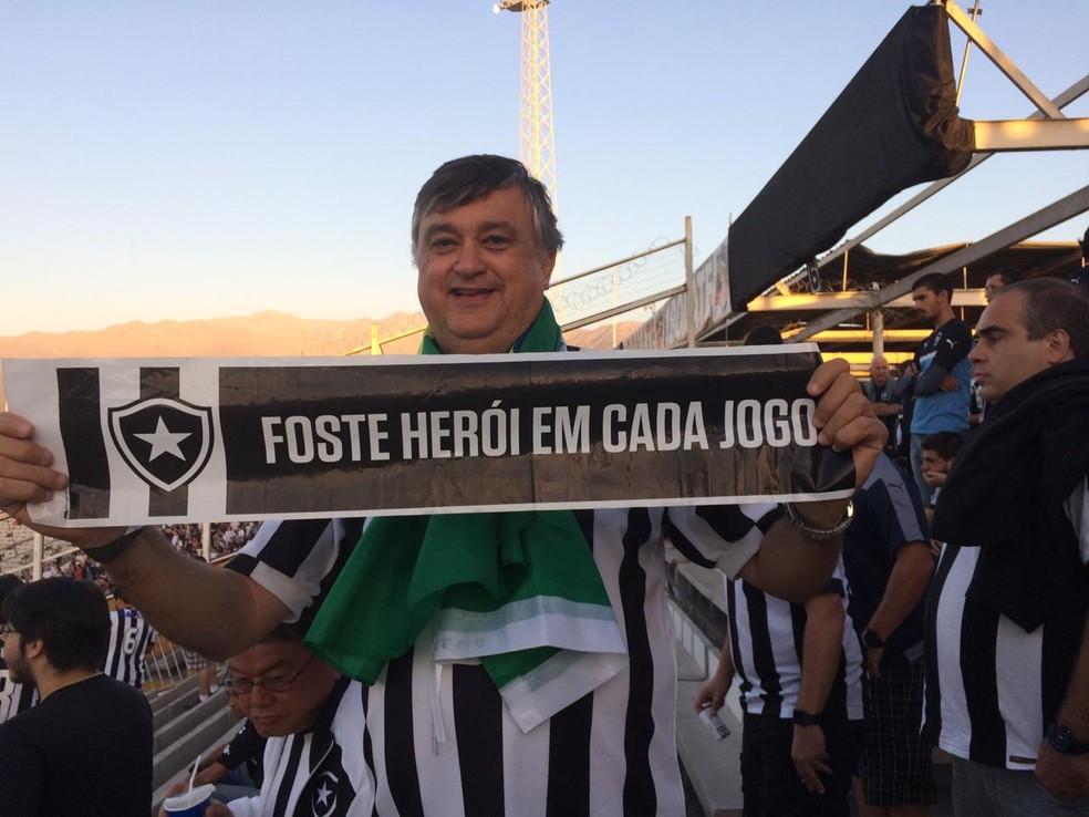 Durcesio Mello, candidato à presidência do Botafogo — Foto: Divulgação