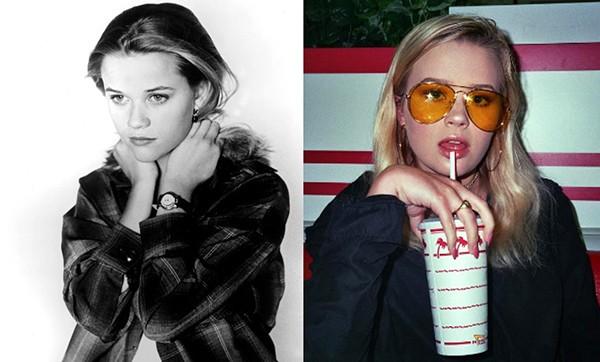 Reese Witherspoon e Ava Phillippe aos 17 anos (Foto: Reprodução / Redes Sociais)