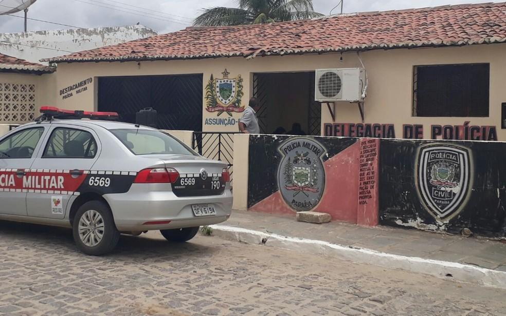 Assunção tem delegacia de Polícia Civi, mas nem sempre delegado está na cidade (Foto: Patrício Silva/Aquivo Pessoal)