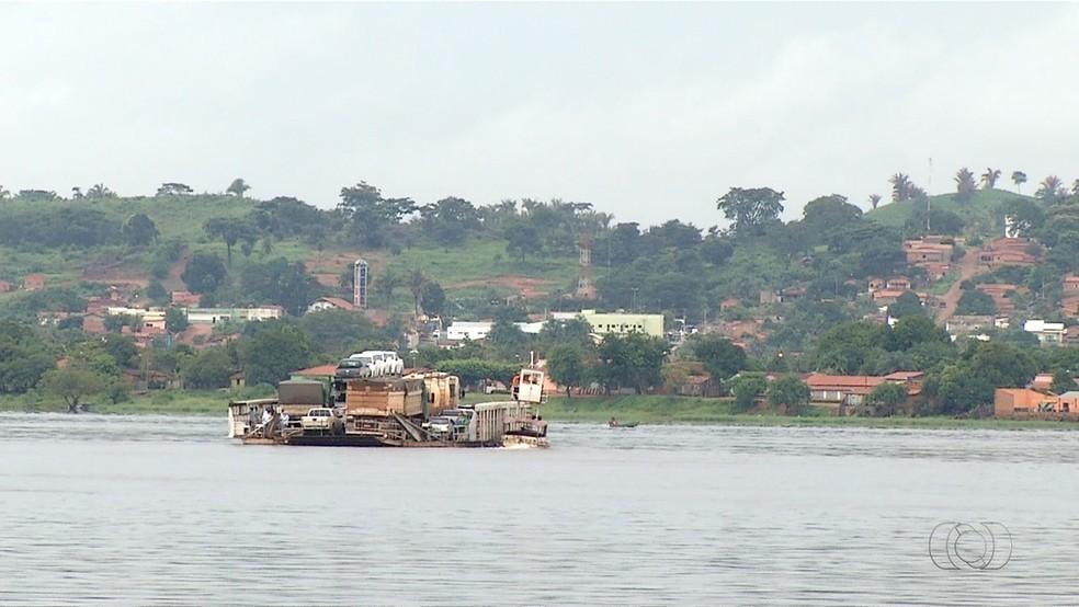 Rios são utilizados como rota de fuga de criminosos no Tocantins (Foto: Reprodução/TV Anhanguera)