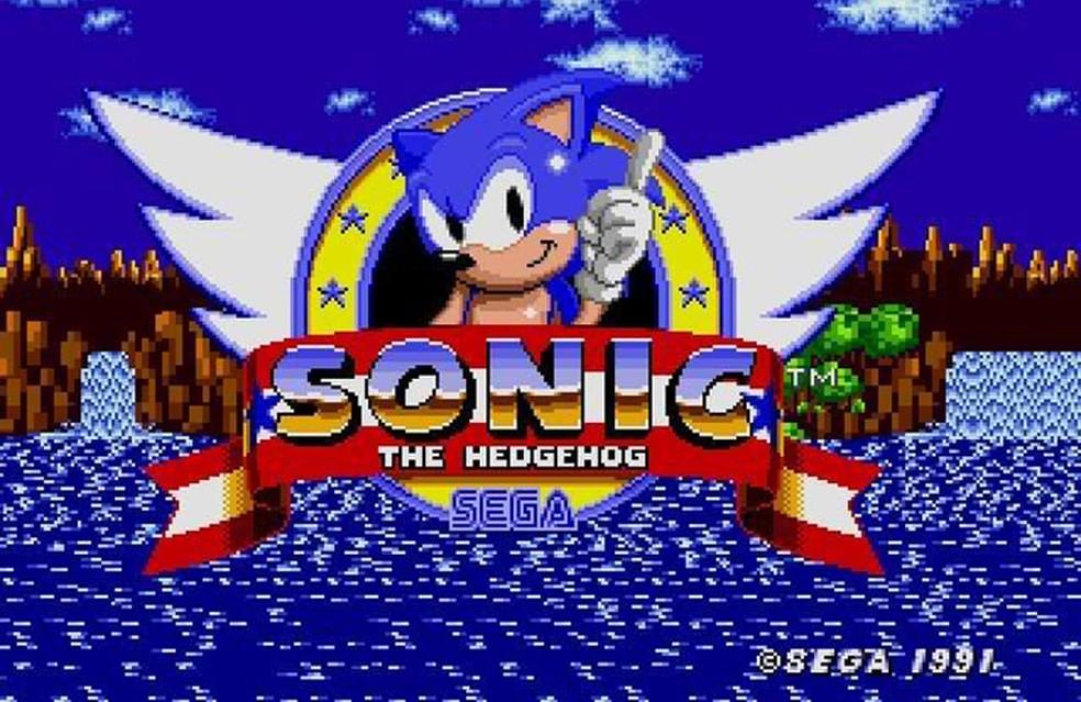 Sonic começou sua lenda no Mega Drive e estará de volta no Sega Genesis Mini — Foto: Divulgação/Sega