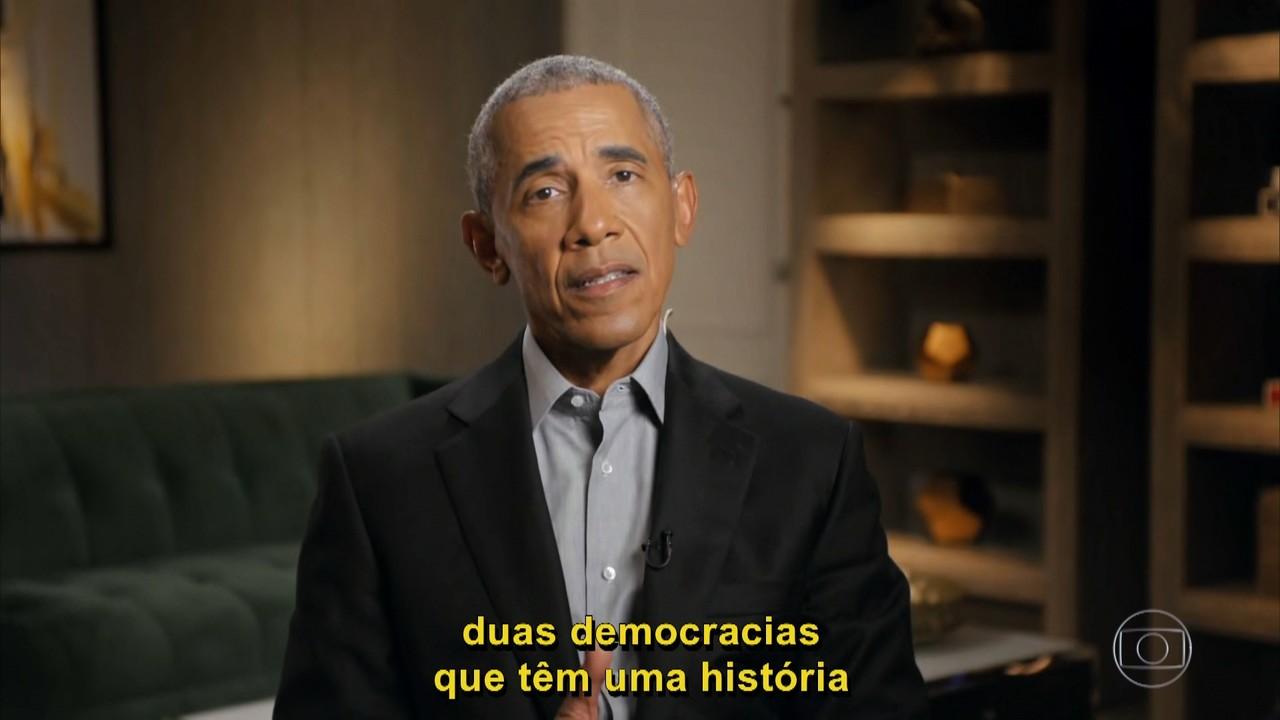 Barack Obama relembra visita à Cidade de Deus