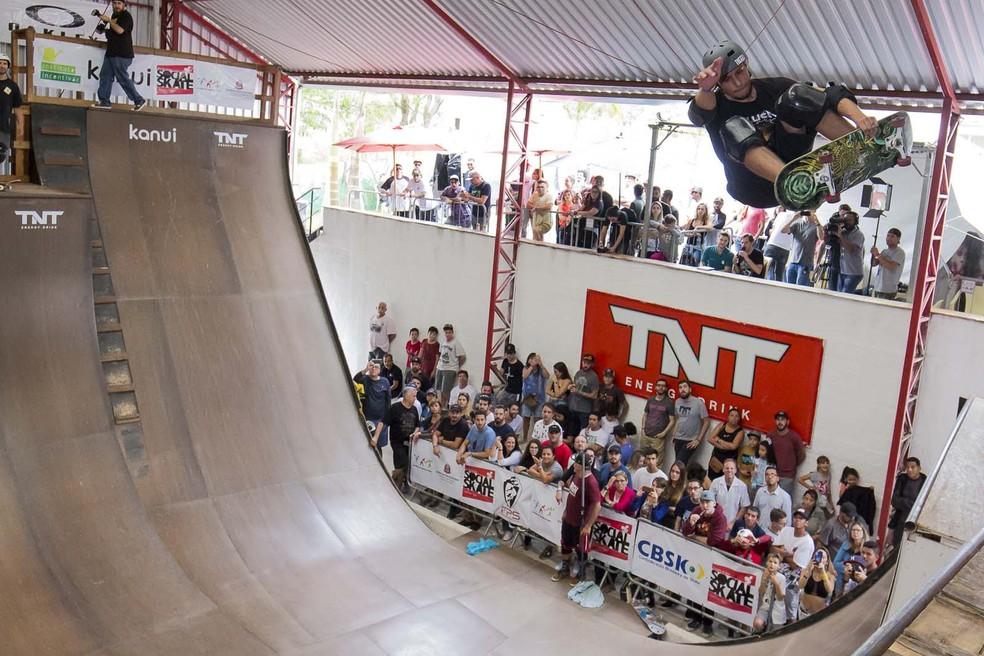 Atibaia recebe primeira etapa da 4ª edição do Skate Vert Battle — Foto: Eduardo Zuza/Divulgação