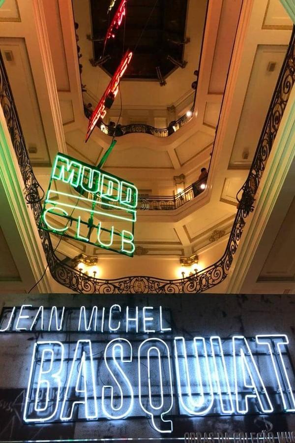 Expo de Jean-Michel Basquiat no CCBB São Paulo (Foto: Instagram/Reprodução)