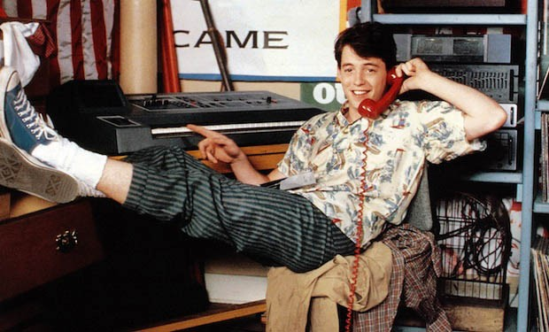 FERRIS BUELLERS DAY OFF, Matthew Broderick, 1986. ©Paramount/courtesy Everett Collection (Foto: ©Paramount/Courtesy Everett Col)