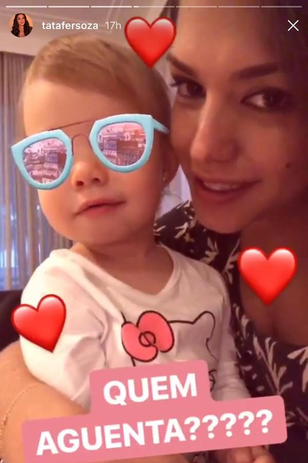 Thais e Melinda (Foto: Instagram/Reprodução)