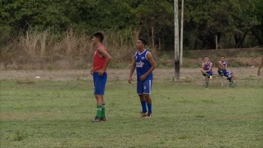 """De volta aos treinos, artilheiro do Piauí no sub-17 esquenta clima antes da final: """"Dar o sangue"""""""