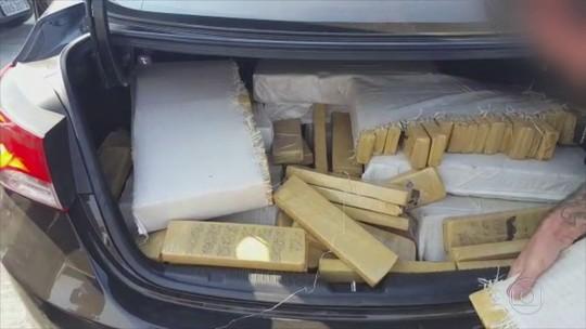 Quadrilha que transportava carros roubados e drogas é presa no PR