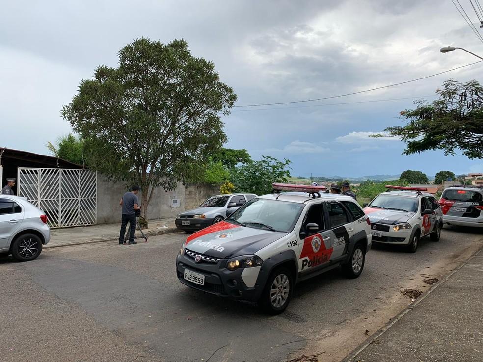 Suzane Richthofen é levada de volta à prisão após ser flagrada em festa em Taubaté — Foto: Luara Leimig