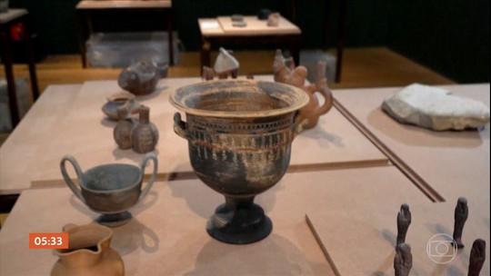 Itália vai emprestar obras de arte para o acervo do Museu Nacional, no RJ