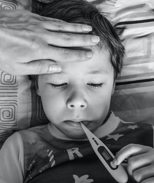 Como baixar a febre das crianças