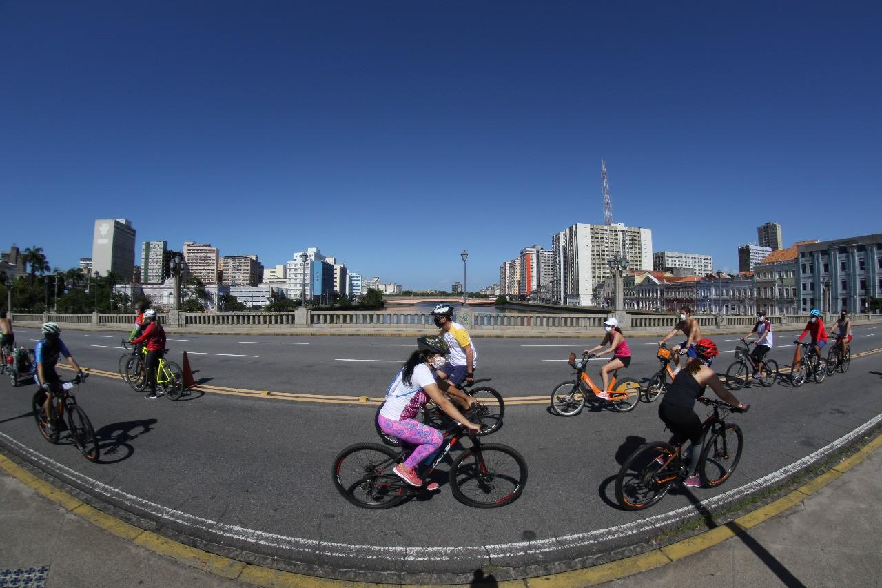 Ciclofaixa de Turismo e Lazer deixa de ser implantada no Recife por causa do 2º turno das eleições
