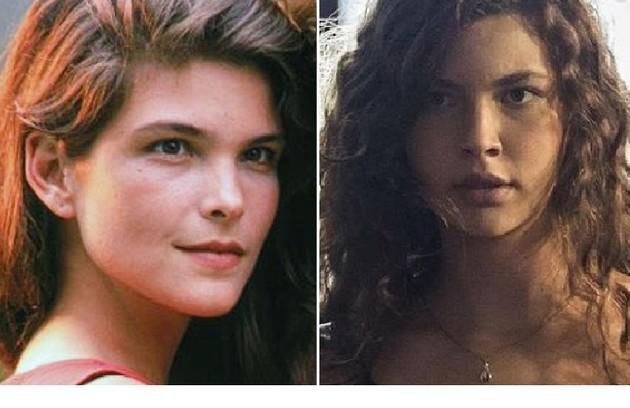 Na primeira versão de 'Pantanal', Juma Marruá foi interpretada por Cristiana Oliveira. O papel caberá a Alanis Guillen (Foto: Reprodução)
