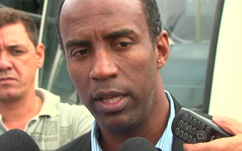 Marcelo Cândido é o candidato ao governo de SP pelo PDT (Foto: Reprodução/TV Globo)