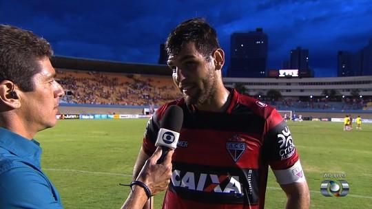 """William Alves lamenta empate sofrido no fim do clássico: """"Sabor de derrota"""""""