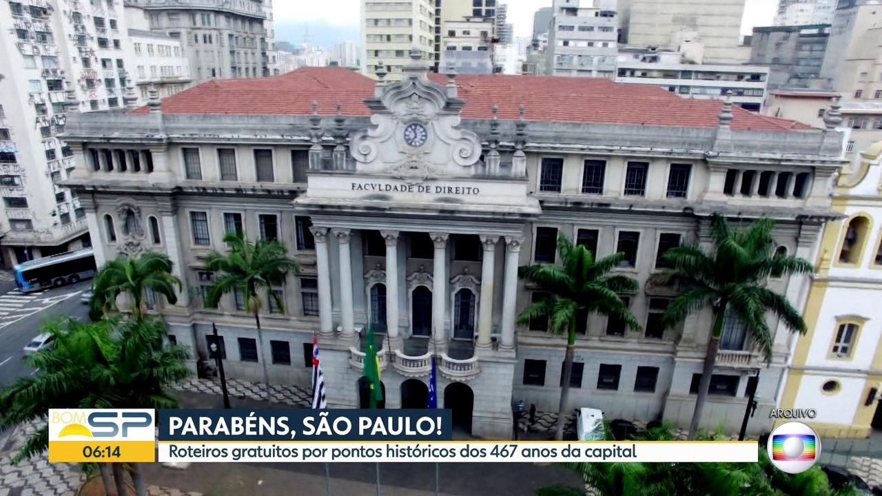 Prefeitura de São Paulo organiza roteiros gratuitos por pontos históricos