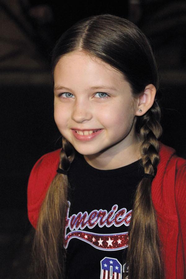 A atriz Daveigh Chase, estrela da franquia O Chamado, em foto de 2001 (Foto: Getty Images)