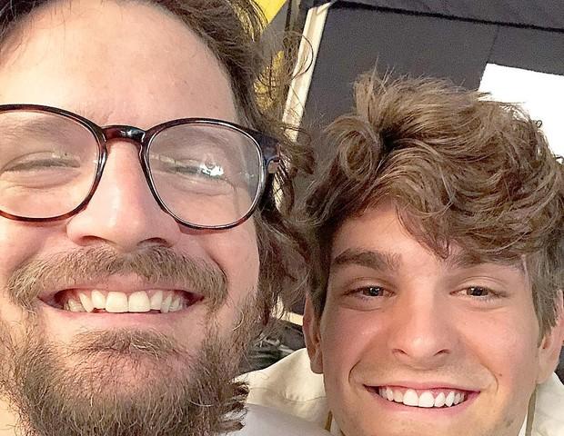 Saulo Fernandes e João Lucas  (Foto: Reprodução)
