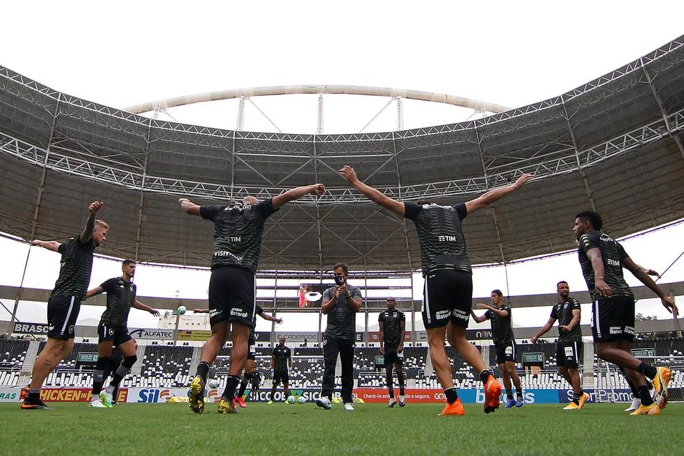 Folha salarial do Botafogo gira em torno dos R$ 3 milhões — Foto: Vitor Silva/Botafogo