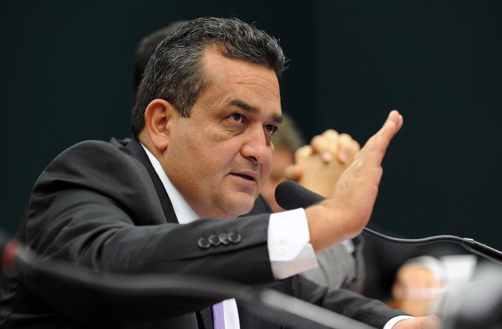 O ex-deputado Márcio Junqueira em sessão de comissão na Câmara dos Deputados em 2013 (Foto: Gabriela Korossy/Câmara dos Deputados)