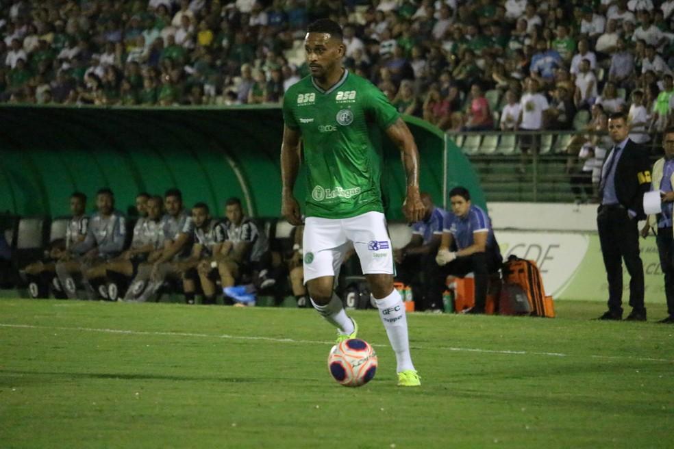 Júnior Todinho marcou seis gols em 10 jogos no ano — Foto: David Oliveira/Guarani FC