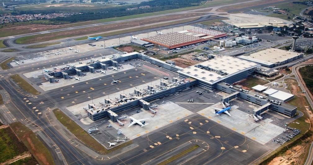 O Aeroporto Internacional de Viracopos, em Campinas (Foto: Ricardo Lima)