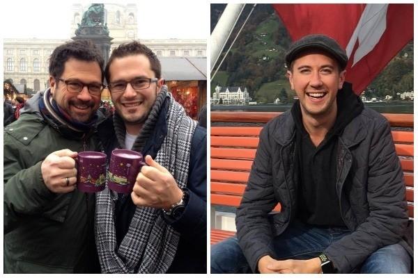 David Daniels e Scott Walters / Samuel Schultz (Foto: Facebook)