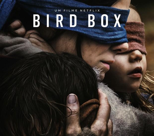 Pôster do filme original da Netflix Bird Box (Foto: Divulgação Netflix)