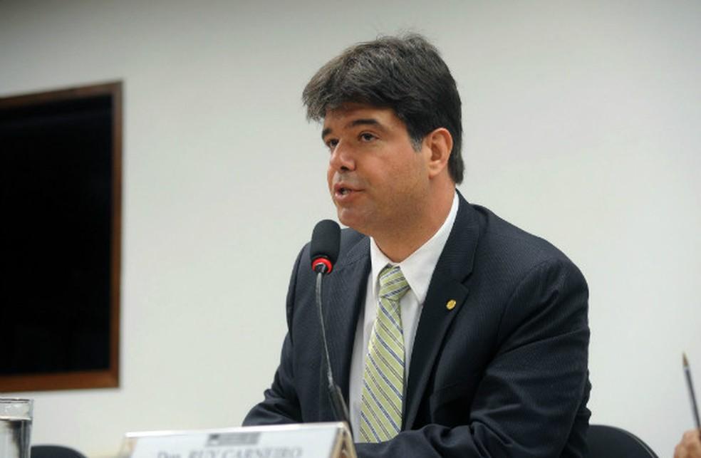 Ruy Carneiro, do PSDB da Paraíba, foi eleito para ocupar cargo de deputado federal — Foto: Larissa Ponce/Agência Câmara
