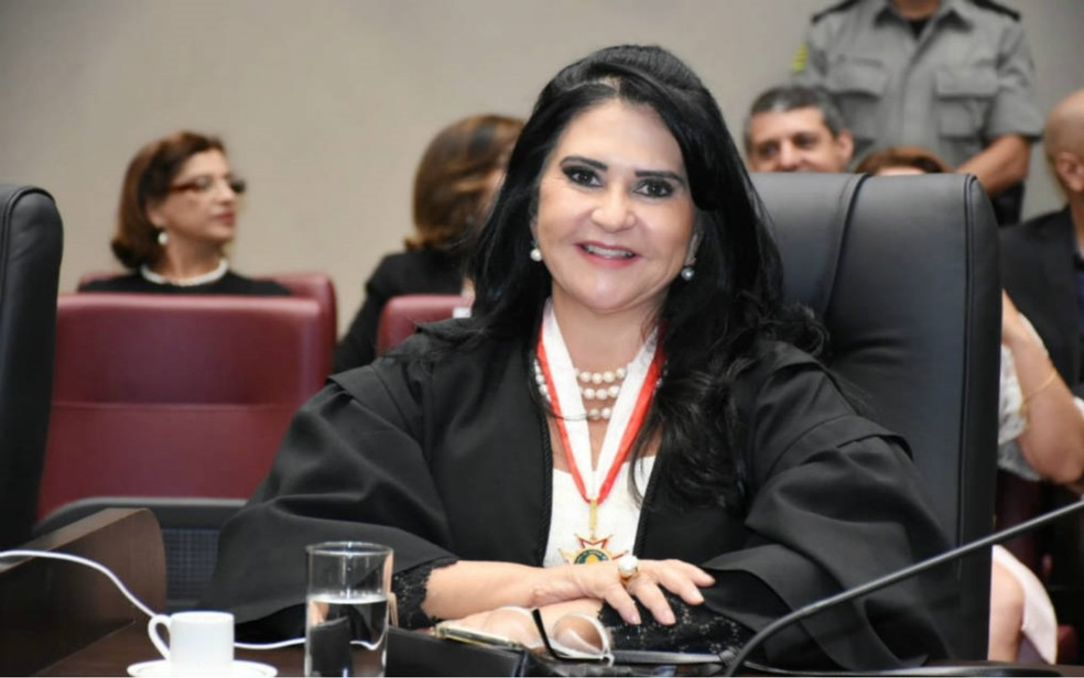 Desembargadora Sandra Regina, presidente da Coordenadoria da Mulher do TJ-GO — Foto: Divulgação/TJGO