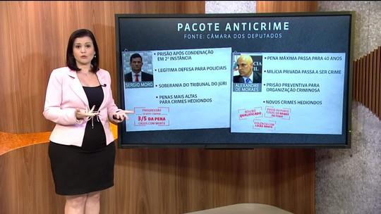 Pacote anticrime: relatório reúne propostas de Moro e de Moraes