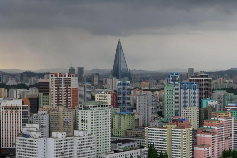 Pyongyiang — Foto: Getty Images via BBC