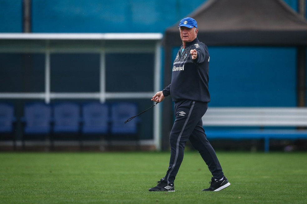 Felipão, técnico do Grêmio — Foto: Lucas Uebel/Divulgação Grêmio