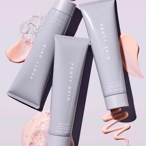 Fenty Skin, a nova marca de skincare de Rihanna (Foto: Reprodução Instagram @fentyskin)