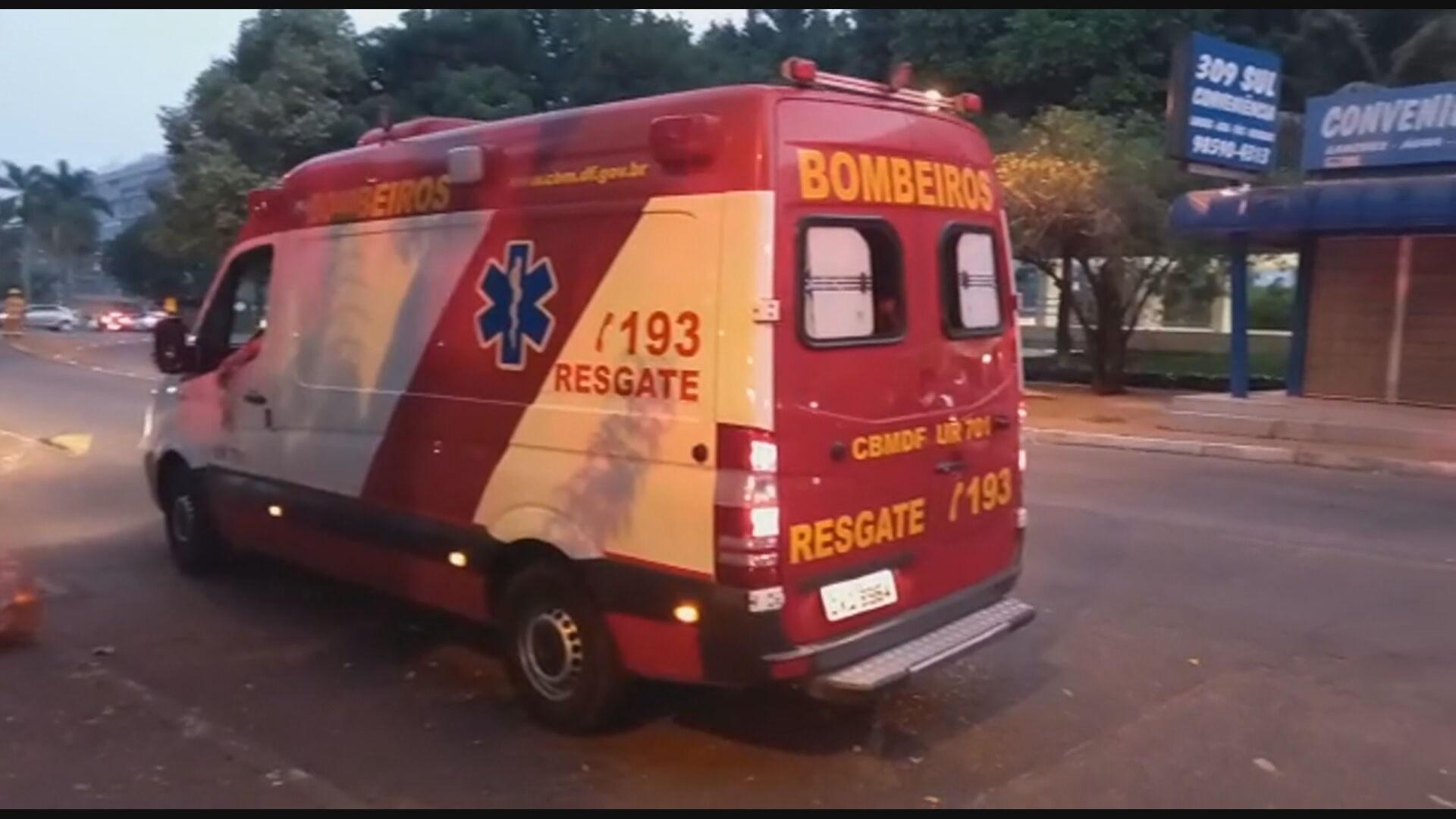 Homem leva cerca de 30 picadas durante ataque de abelhas e é levado a hospital em Brasília