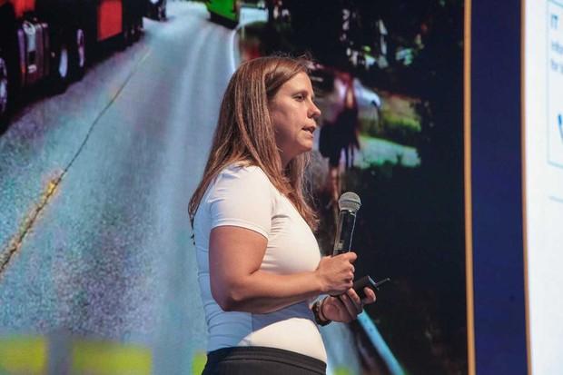 Andrea Kollmorgen, VP de emobilidade conectada da Siemens (Foto: Divulgação)